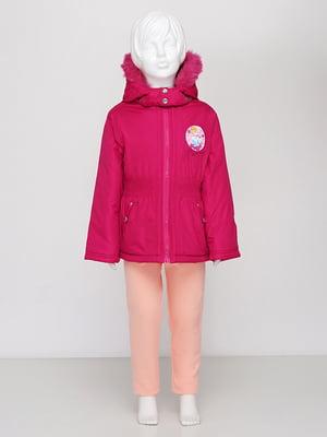 Куртка малинового кольору | 5395010