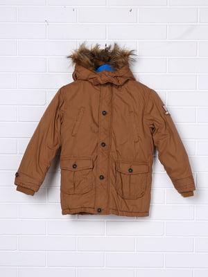 Куртка коричнева | 5395035