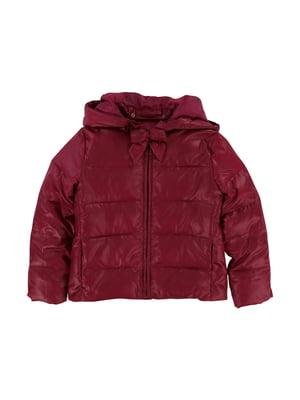Куртка бордова | 5395077