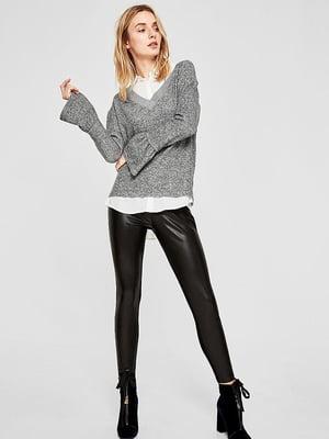 Пуловер сірий | 5395149
