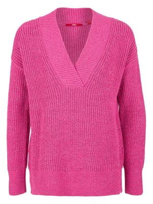 Пуловер кольору фуксії   5395192