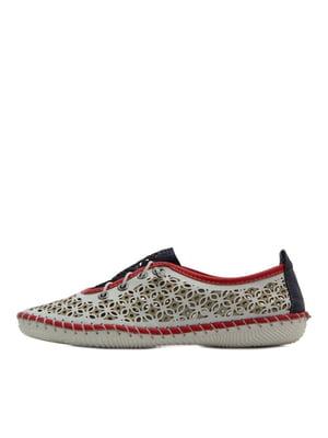 Туфлі різнокольорові   5395339