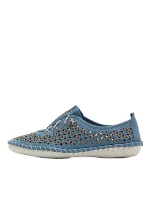 Туфлі сині   5395344