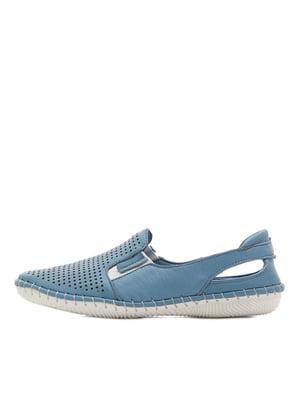 Туфлі сині   5395359