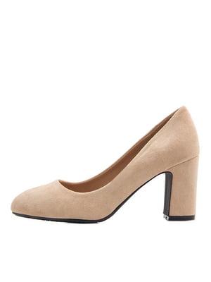 Туфли бежевые | 5395436