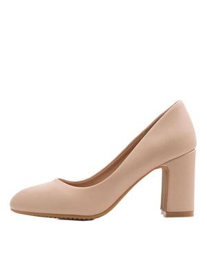 Туфли бежевые | 5395440