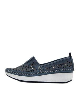 Туфлі сині | 5395639
