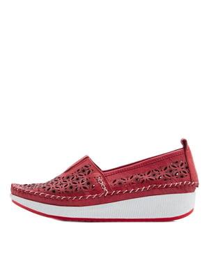 Туфлі червоні | 5395640
