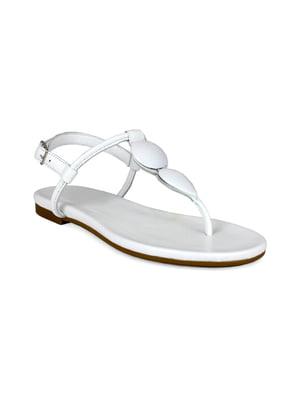 Сандалі білі | 5395675