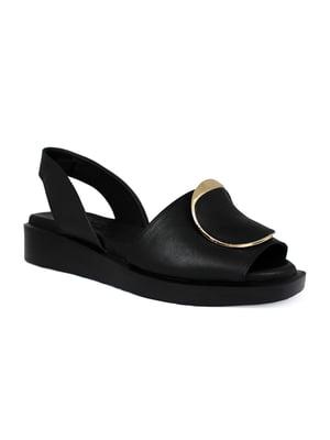 Сандалии черные | 5395676