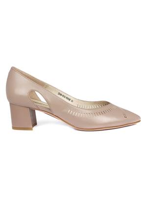 Туфлі кавового кольору | 5395702