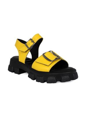 Босоножки желтые | 5396014