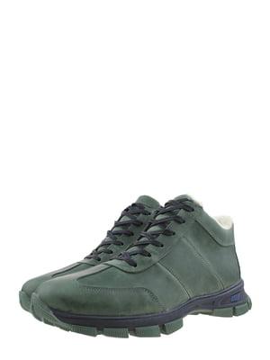 Ботинки зеленые | 5259010