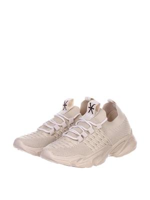 Кроссовки бежевые | 5302850