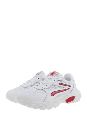 Кросівки біло-червоні | 5302876