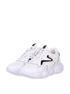 Кроссовки бело-черные | 5302894