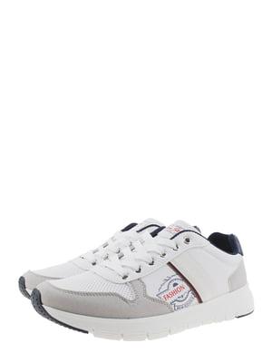 Кроссовки серо-белые | 5367716
