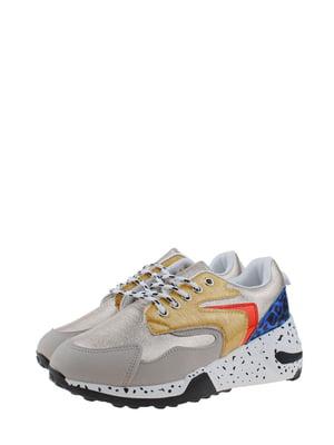 Кроссовки разноцветные | 5372510