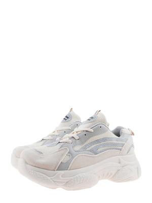 Кроссовки серо-бежевые | 5375584