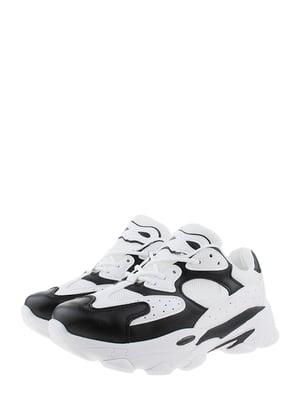 Кроссовки бело-черные | 5375585