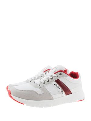 Кросівки біло-кавового кольору   5375595