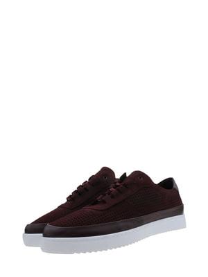 Туфлі бордові | 5381070