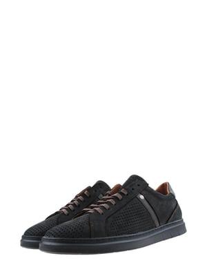 Туфли черно-коричневые   5381074