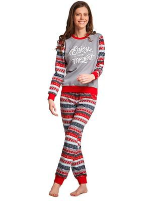 Комплект домашній: штани і футболка | 5396110