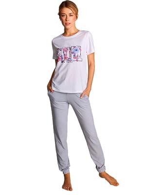 Комплект домашній: штани і футболка | 5396114
