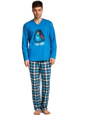 Комплект домашний: брюки и футболка | 5396157