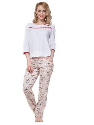Комплект домашній: штани і футболка | 5396095