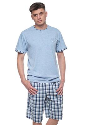 Комплект домашний: шорты и футболка | 5396154