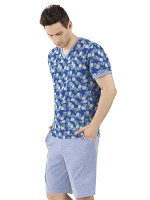 Комплект домашний: шорты и футболка | 5396155
