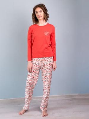 Пижама: лонгслив и брюки | 5395096