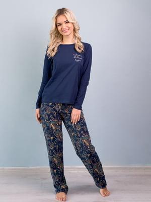 Пижама: лонгслив и брюки | 5395097