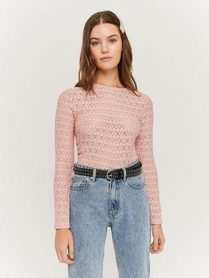 Лонгслів рожевий | 5396829