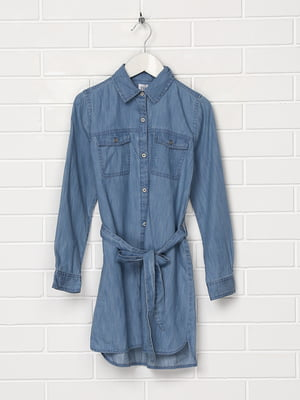 Платье голубое   5397123