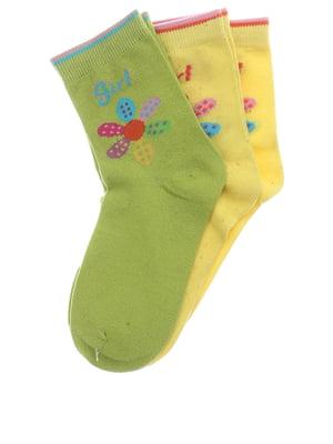 Комплект шкарпеток (3 пари) | 5397174