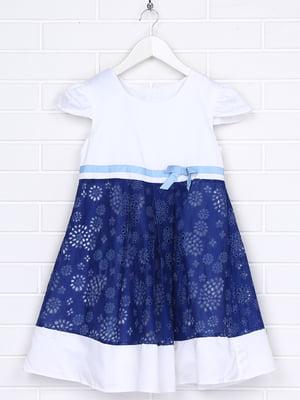 Сукня двоколірна | 5397182