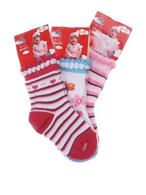 Комплект шкарпеток (3 пари) | 5397265