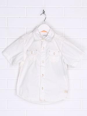 Рубашка молочного цвета | 5397289
