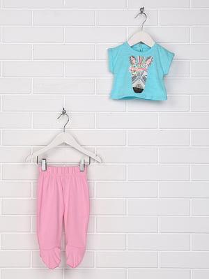 Костюм: футболка і повзунки | 5397342