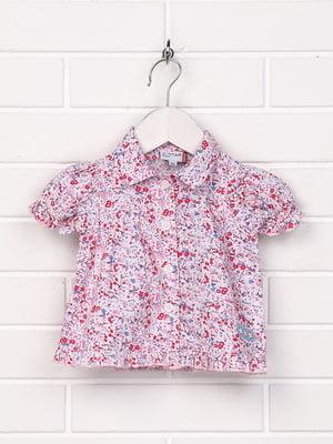 Сорочка різнокольорова в принт | 5397358