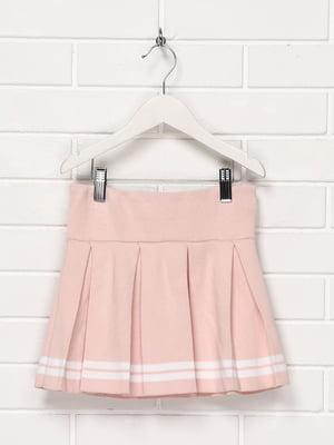 Спідниця рожева з смужками | 5397361