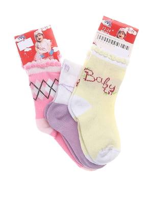 Комплект шкарпеток (3 пари) | 5397536