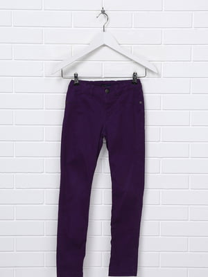 Брюки фиолетовые | 5397608