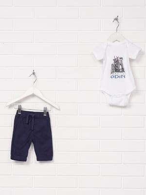 Комплект: боді і штани | 5397640