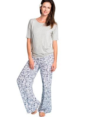 Комплект домашний: футболка и брюки | 5397773