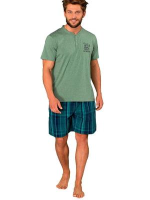 Комплект домашний: футболка и шорты | 5397811