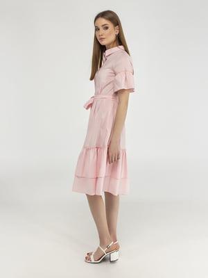 Сукня кольору пудри | 5398893